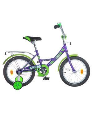 Велосипед 16 URBAN NOVATRACK. Цвет: фиолетовый