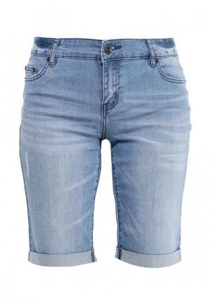 Шорты джинсовые Incity. Цвет: голубой