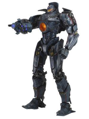 Фигурка Pacific Rim 18 Gipsy Danger - Battle Damaged w/ Light-up Plasma Cannon Arm Neca. Цвет: синий, оранжевый, темно-серый