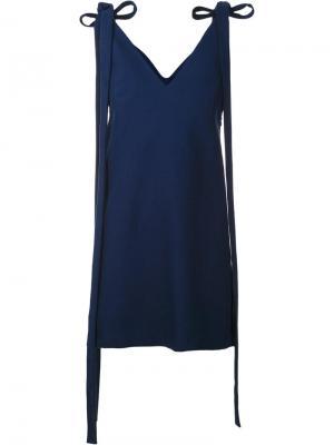 Платье La Robe Qui Flotte Jacquemus. Цвет: синий