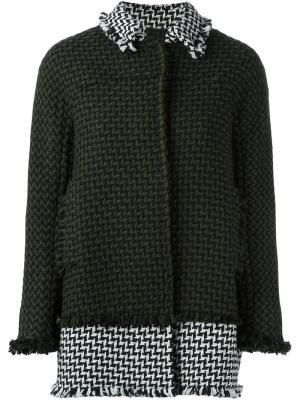 Свободная куртка Gianluca Capannolo. Цвет: зелёный