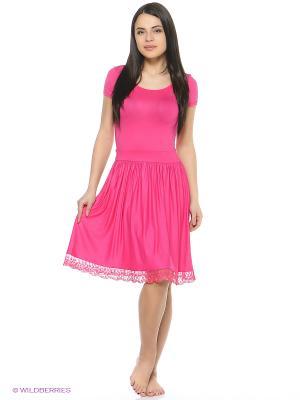 Платье AnGela. Цвет: розовый