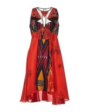 Короткое платье JO NO FUI. Цвет: красный