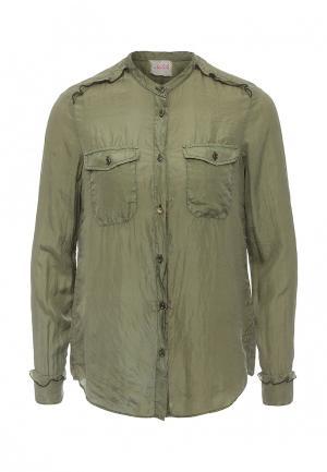 Рубашка Nolita. Цвет: зеленый