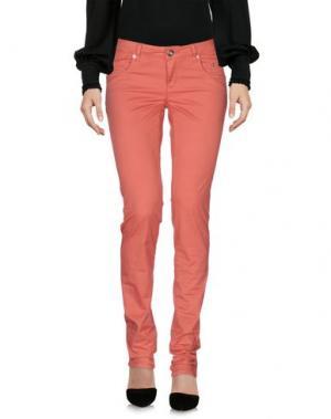 Повседневные брюки SIVIGLIA. Цвет: коралловый