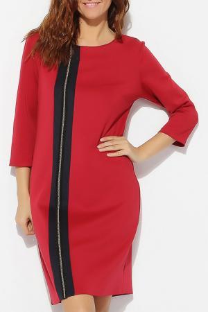Платье Moda di Emiliana. Цвет: красный