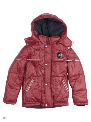 Куртка Senso kids. Цвет: бордовый