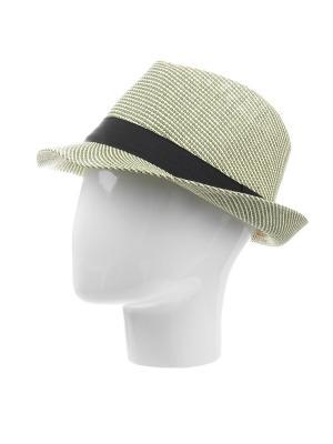 Шляпа Gusachi. Цвет: зеленый, бежевый