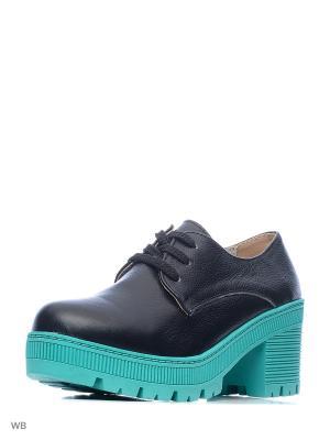 Ботинки Camidy. Цвет: черный, зеленый