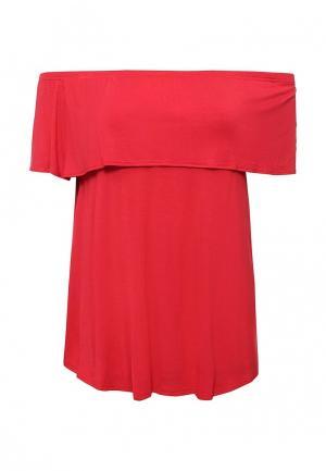 Блуза Dorothy Perkins Curve. Цвет: красный