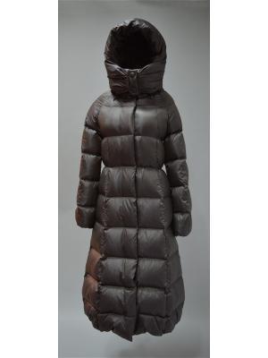Пальто Bos Bison. Цвет: серый