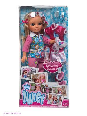 Кукла Нэнси: Как ты Famosa. Цвет: розовый, голубой