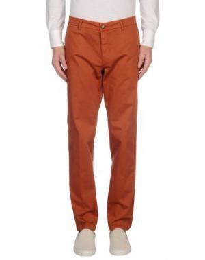 Повседневные брюки HERMAN & SONS. Цвет: ржаво-коричневый