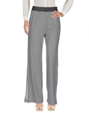 Повседневные брюки MARCHÉ_21. Цвет: стальной серый