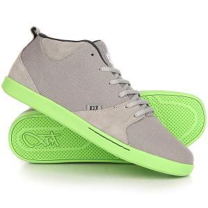 Кеды кроссовки высокие  Schn1tzel Te Grey K1X. Цвет: серый
