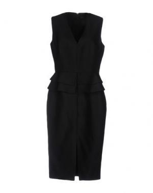 Платье до колена MARTIN GRANT. Цвет: черный