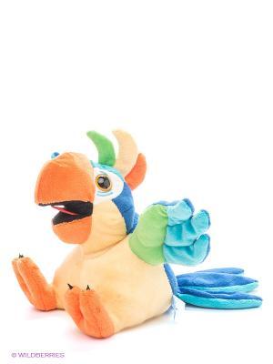 Игрушка Попугай Дразнилкин DREAM MAKERS. Цвет: желтый, голубой, оранжевый