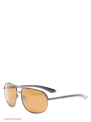 Солнцезащитные очки MS 01-22608 Mario Rossi. Цвет: коричневый