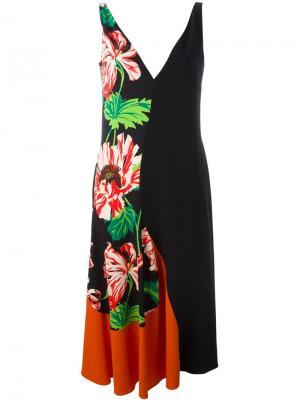 Платье Agnes Stella McCartney. Цвет: многоцветный