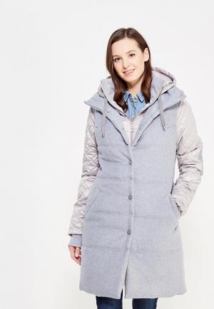 Комплект жилет и куртка DuckyStyle. Цвет: серый