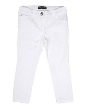Джинсовые брюки MISS BLUMARINE JEANS. Цвет: белый