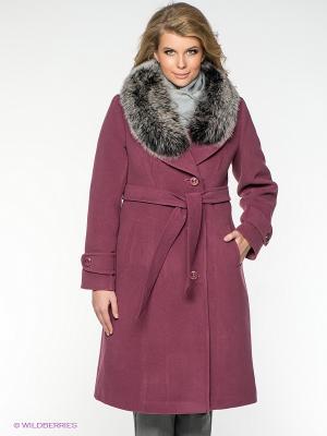 Пальто Klimini. Цвет: лиловый