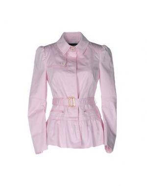 Легкое пальто GAI MATTIOLO JEANS. Цвет: розовый