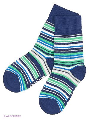 Носки трикотажные для мальчиков PlayToday. Цвет: зеленый, синий