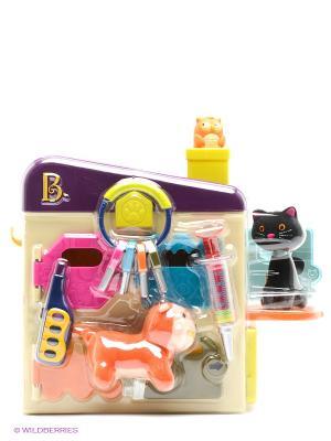 Игрушка Ветеринарный набор Battat. Цвет: молочный, желтый, фуксия