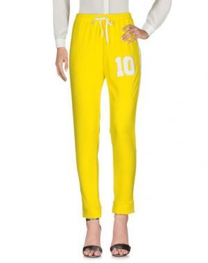 Повседневные брюки LIIS - JAPAN. Цвет: желтый