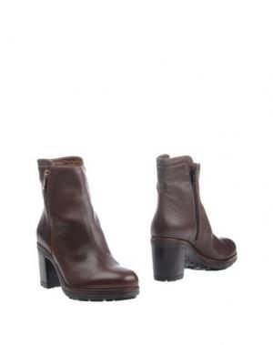 Полусапоги и высокие ботинки SAX. Цвет: какао