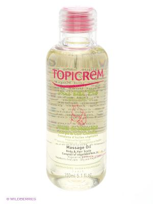 Массажное масло для тела и кожи головы 150 мл TOPICREM. Цвет: белый