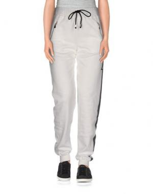 Повседневные брюки LORELLA SIGNORINO. Цвет: белый