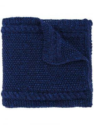 Lyudmila Tussey scarf 711. Цвет: синий