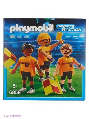 Футбол: Судейская Бригада Playmobil. Цвет: желтый, черный