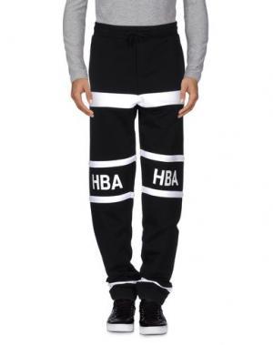 Повседневные брюки HBA HOOD BY AIR. Цвет: черный