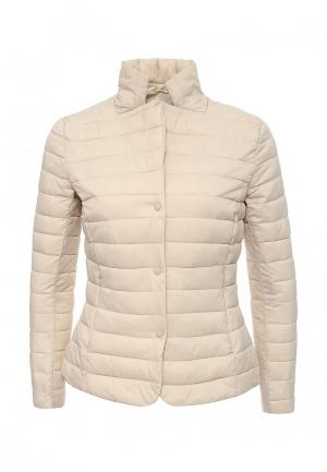 Куртка утепленная Aurora Firenze. Цвет: бежевый