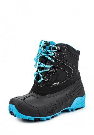 Ботинки Fullstop. Цвет: черный