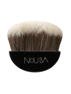 Кисть для лица BLUSHING BRUSH NOUBA. Цвет: черный, коричневый