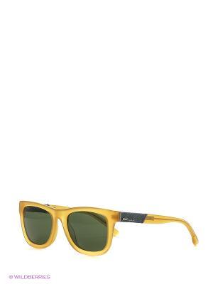 Солнцезащитные очки DL 0050 39N Diesel. Цвет: золотистый