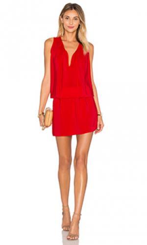 Платье ambrosia Amanda Uprichard. Цвет: красный