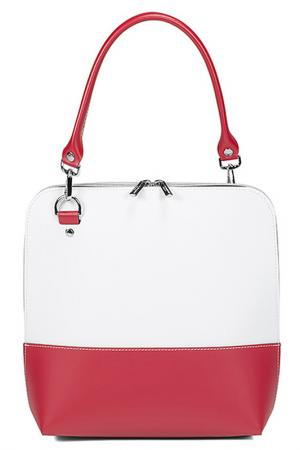 Bag ALMINI MILANO. Цвет: white and red