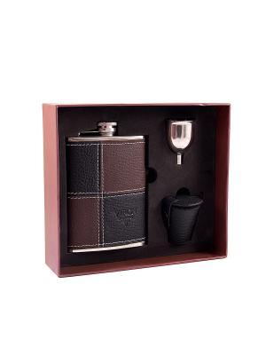 Подарочный набор VIRON. Цвет: темно-коричневый, черный