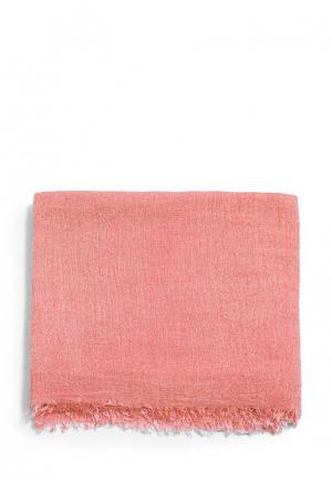 Палантин Mango. Цвет: розовый