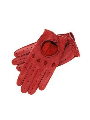 Перчатки Roeckl. Цвет: красный