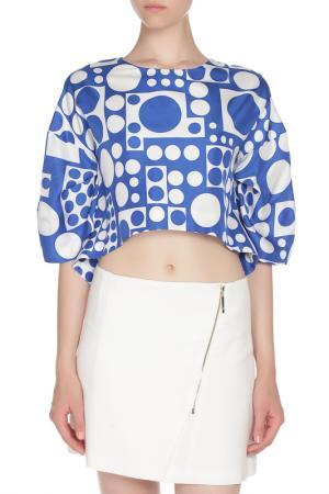 Блуза Gaetano Navarra. Цвет: двухцветный