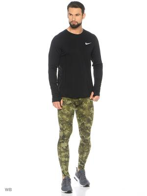 Тайтсы M NP HPRCL TGHT DIGI CAMO Nike. Цвет: зеленый