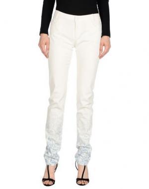 Повседневные брюки BAND OF OUTSIDERS. Цвет: белый