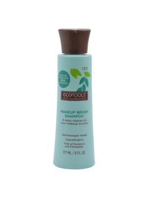 Средство для очистки кистей Makeup Brush Shampoo Ecotools. Цвет: голубой