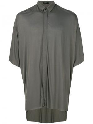 Рубашка с короткими рукавами Unconditional. Цвет: зелёный